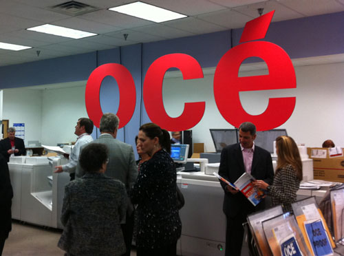 Figure 1: The Océ Envision the Future Forum included a tour of Houston, TX's Ideal Printers.