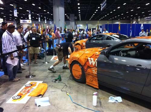 FESPA Americas 2011 Vehicle Wrap Masters challenge