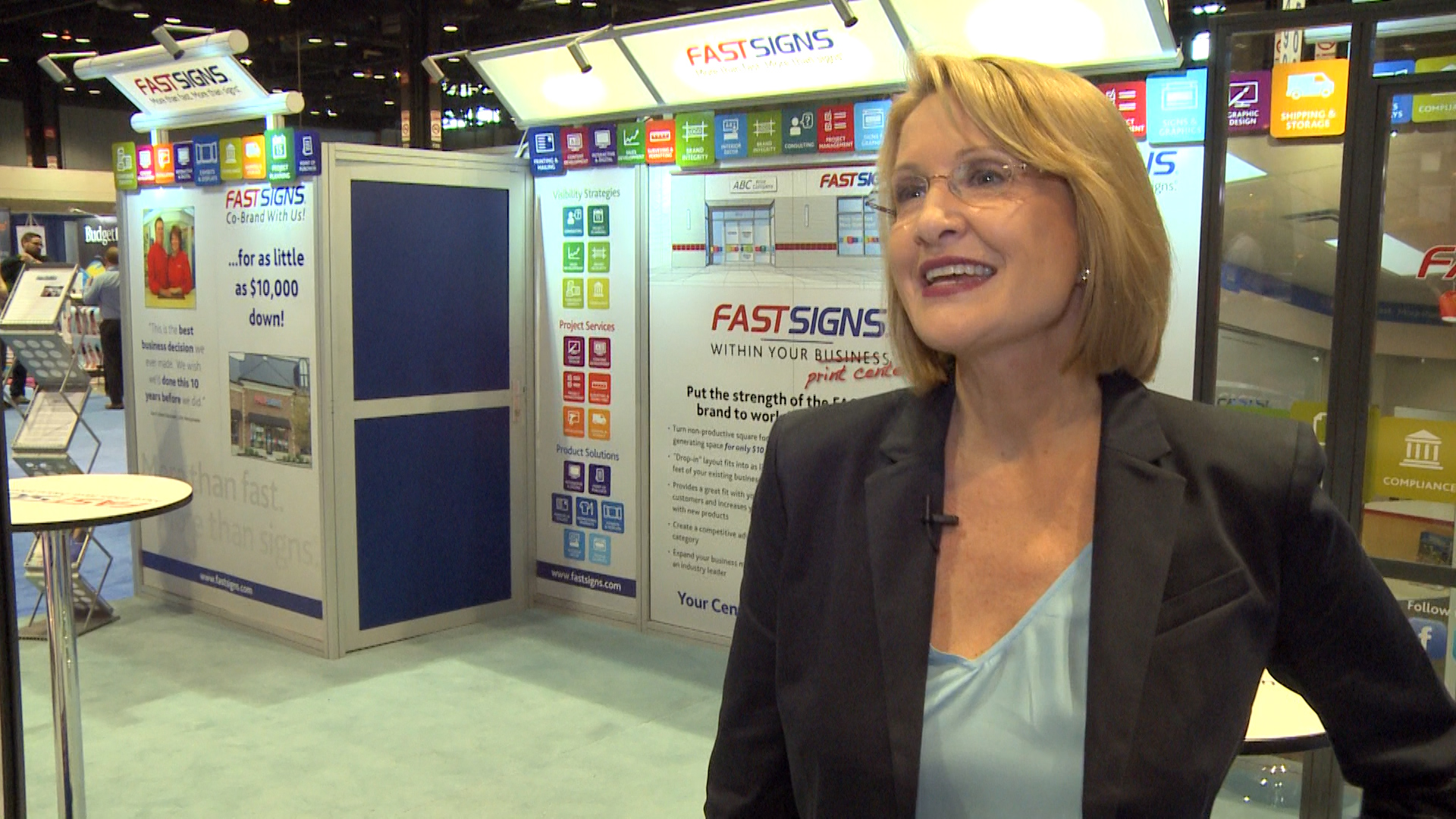 Video preview: FastSigns Offers Co-brand Franchise Opportunities at Graph Expo 2015