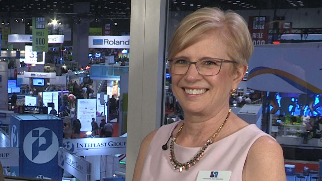 Video preview: ISA President & CEO Lori Anderson Talks Record Breaking Crowd at Sign Expo