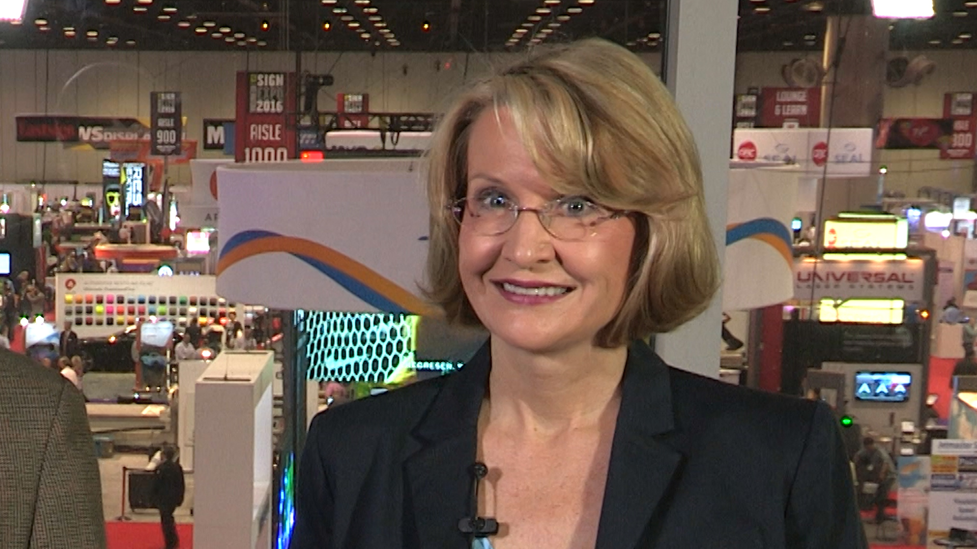 Video preview: FastSigns' Catherine Monson Talks with Richard Romano