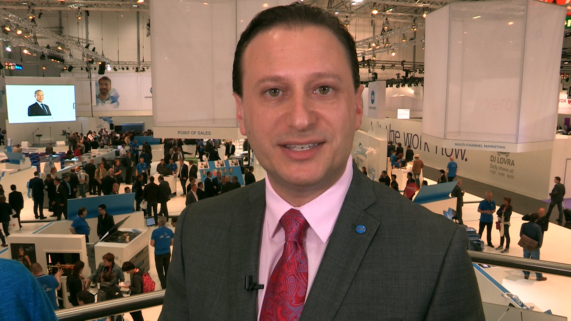 Video preview: A Preview of New Technology from Konica Minolta at drupa