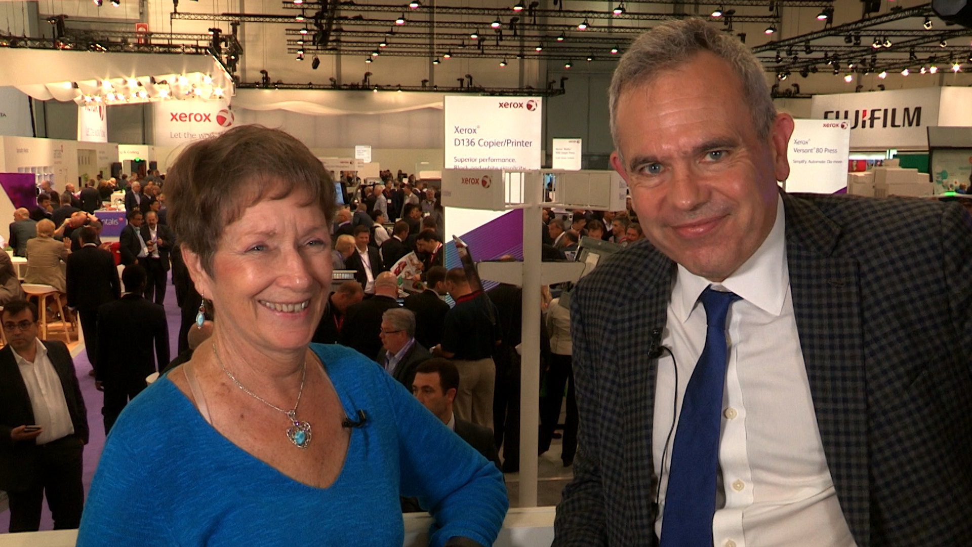 Xerox's Robert Stabler Shares the Xerox Experience at drupa