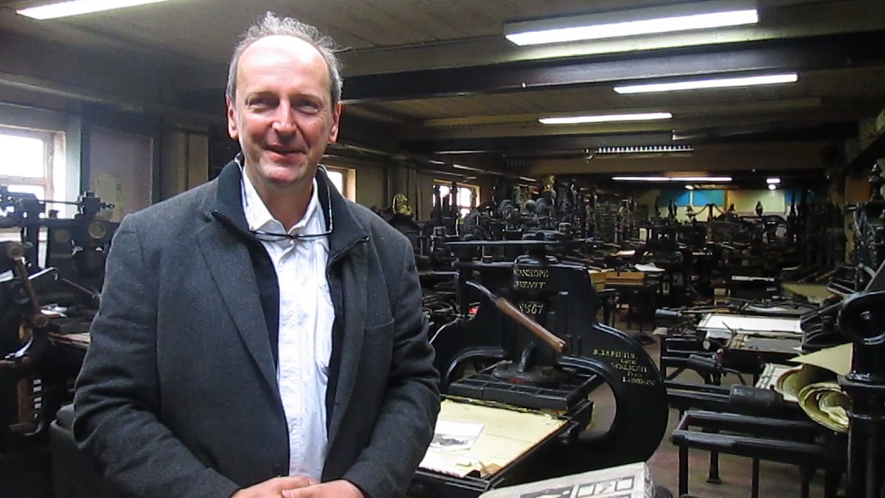 Video preview: Frank Visited Patrick Goosens' Bakery & Antique Press Warehouse