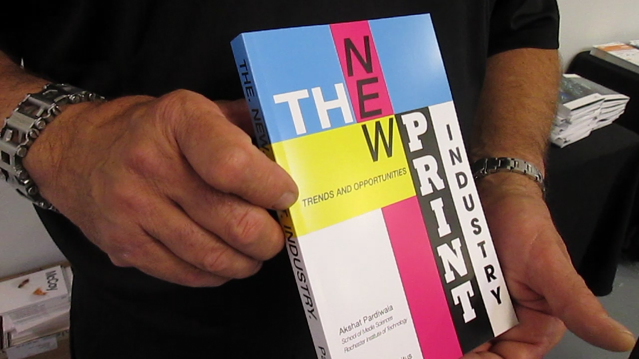 Video preview: Frank's New Book: The New Print Industry