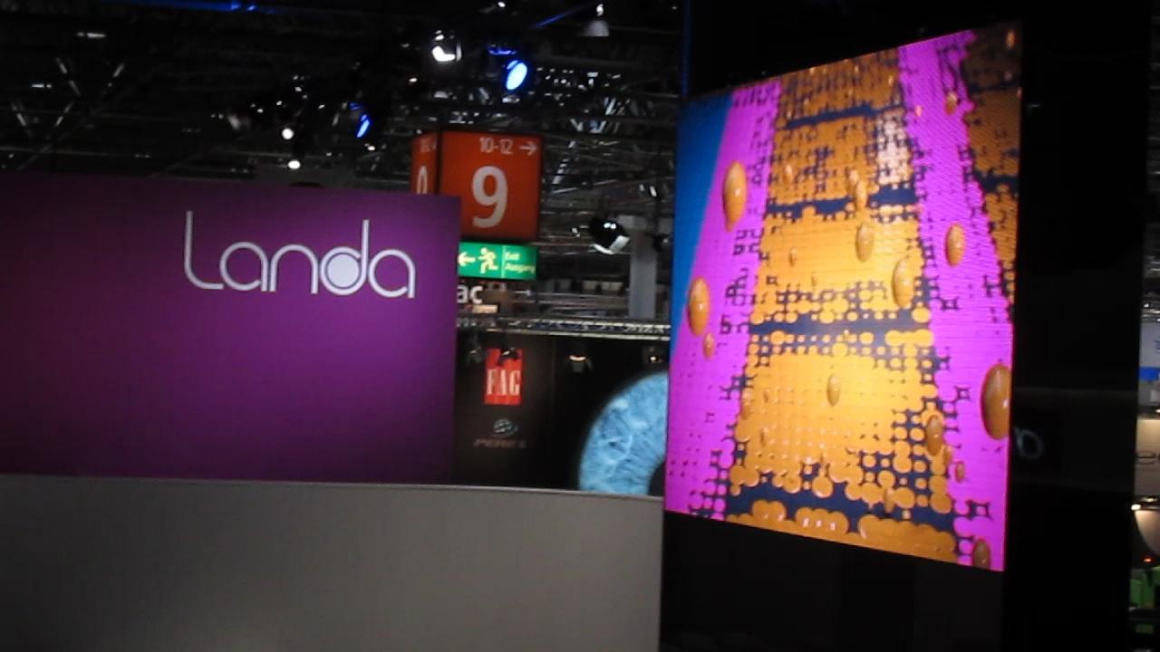 Frank Gives an Overview of Landa at drupa 2016