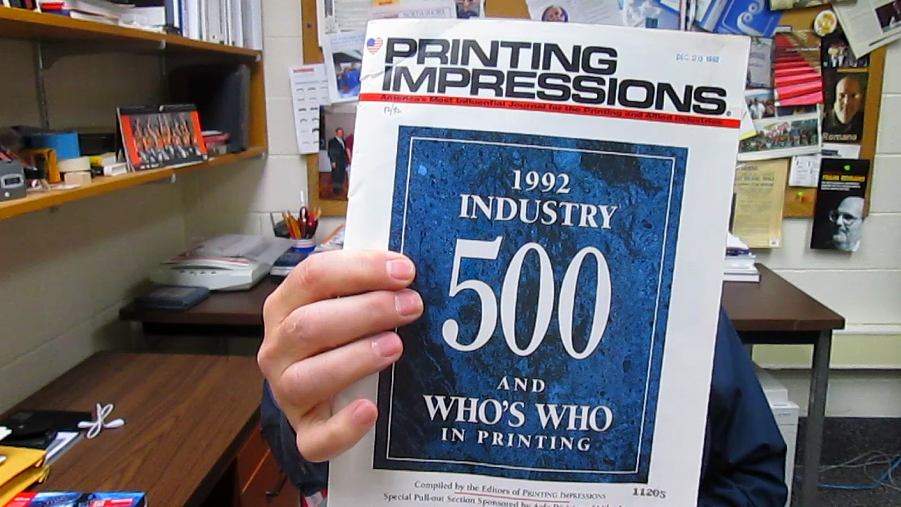 Video preview: The Largest Printers in 1992. Where Are They Now?