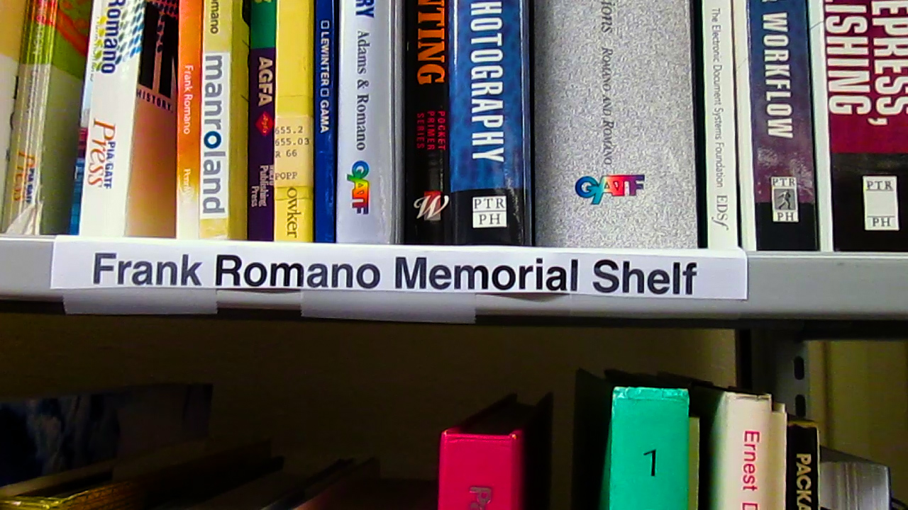 Video preview: Frank Romano Memorial Bookshelf at CalPoly