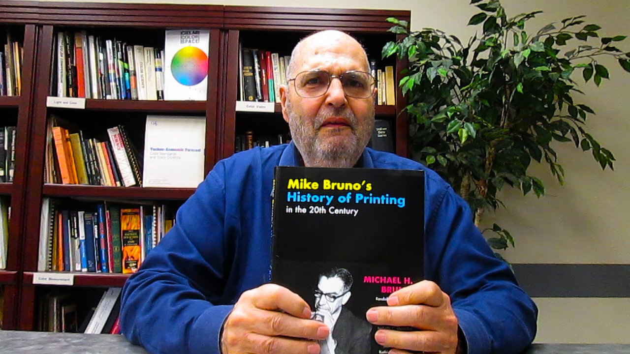 Video preview: CalPoly Students Create Book about Printing Pioneer Michael Bruno
