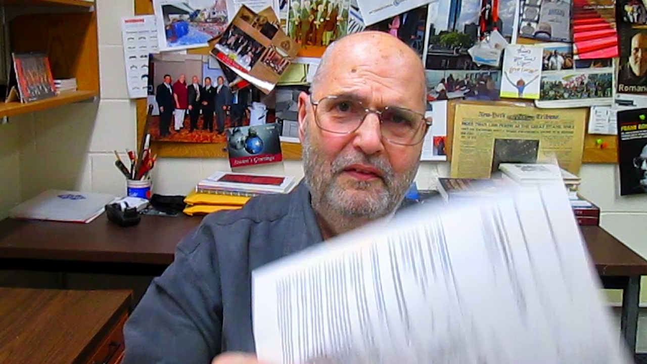 Video preview: Frank on Newspaper Business Practices