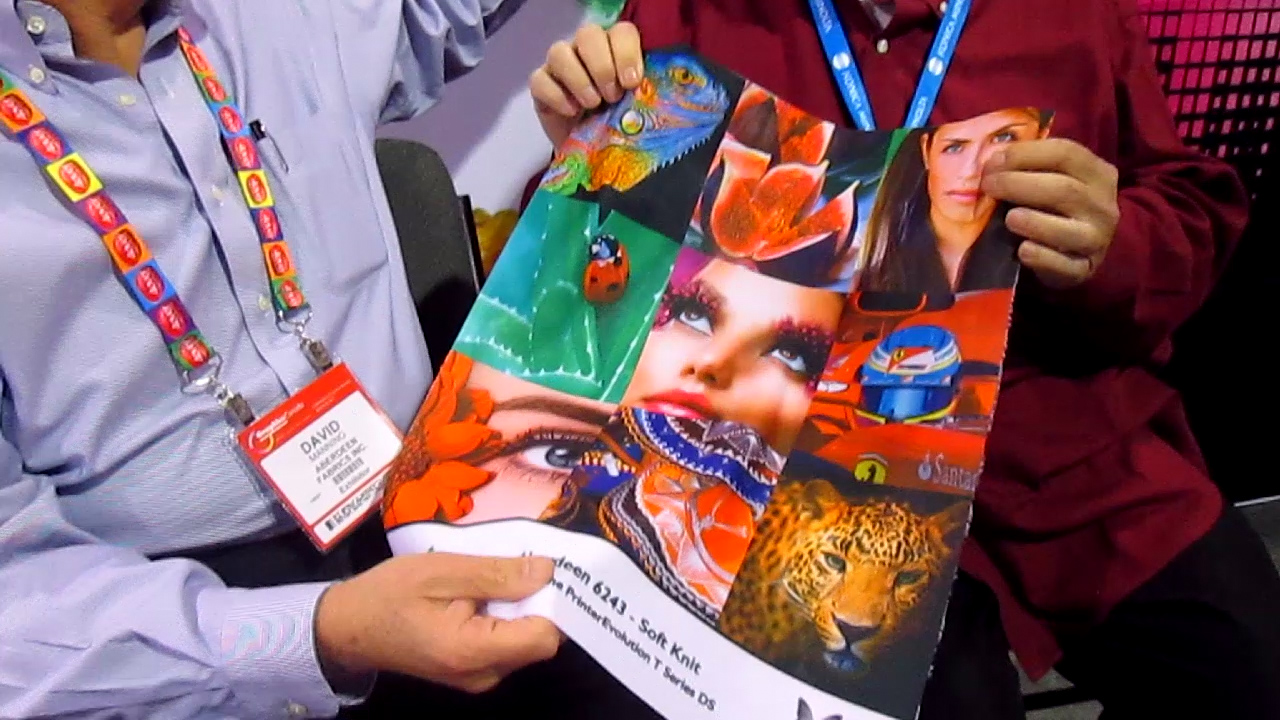 Video preview: Frank on Digital Textile Printing