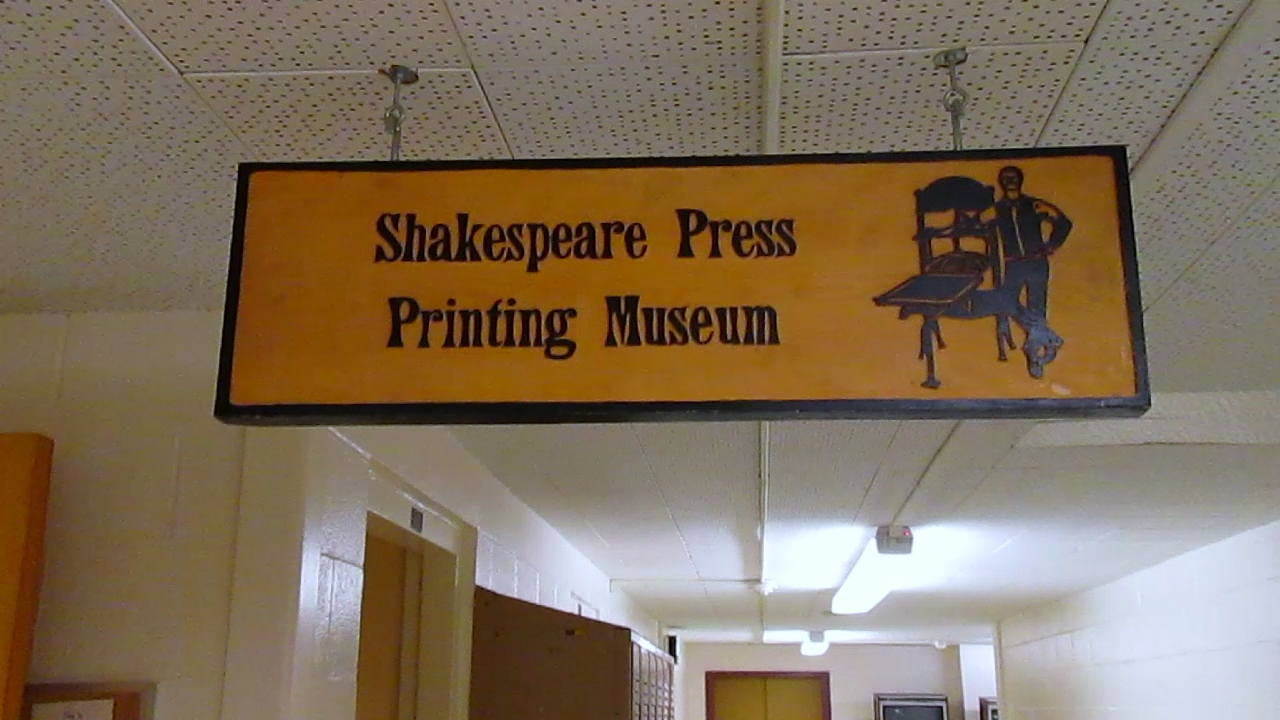 Video preview: Frank Visits Cal Poly's Shakespeare Museum