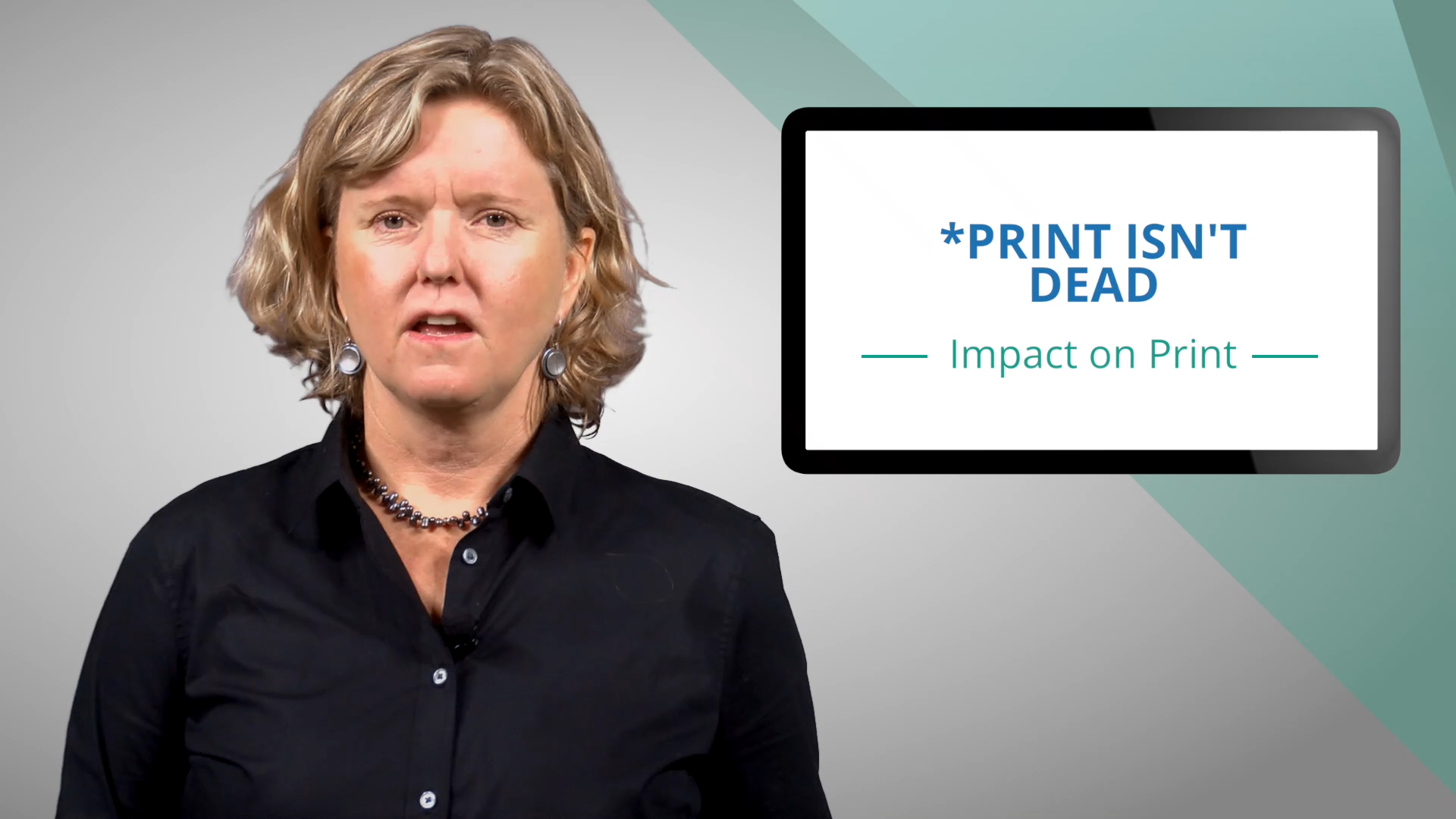 Video preview: Print Is Not Dead AND Its Not Returning to Past Dominance