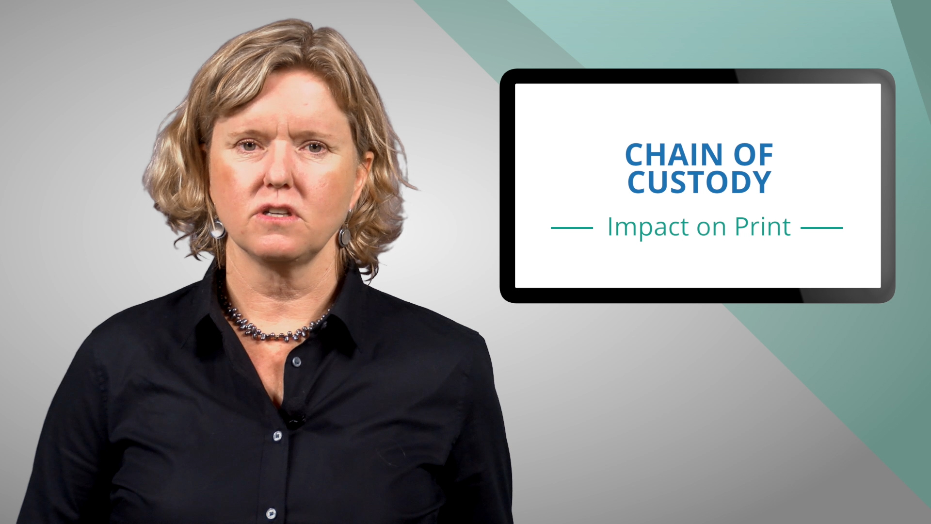 Video preview: Chain of Custody of Print Jobs
