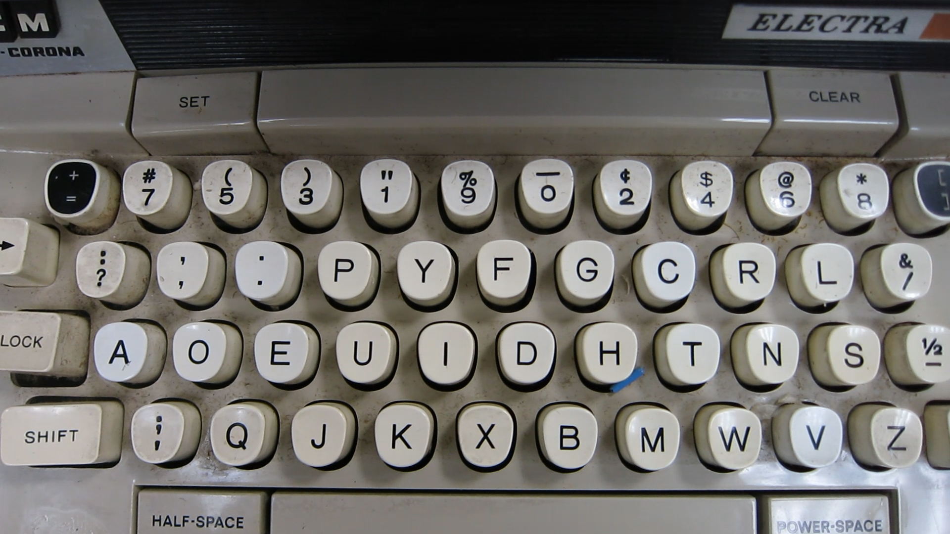 Video preview: Everything You Ever Wanted to Know about QWERTY