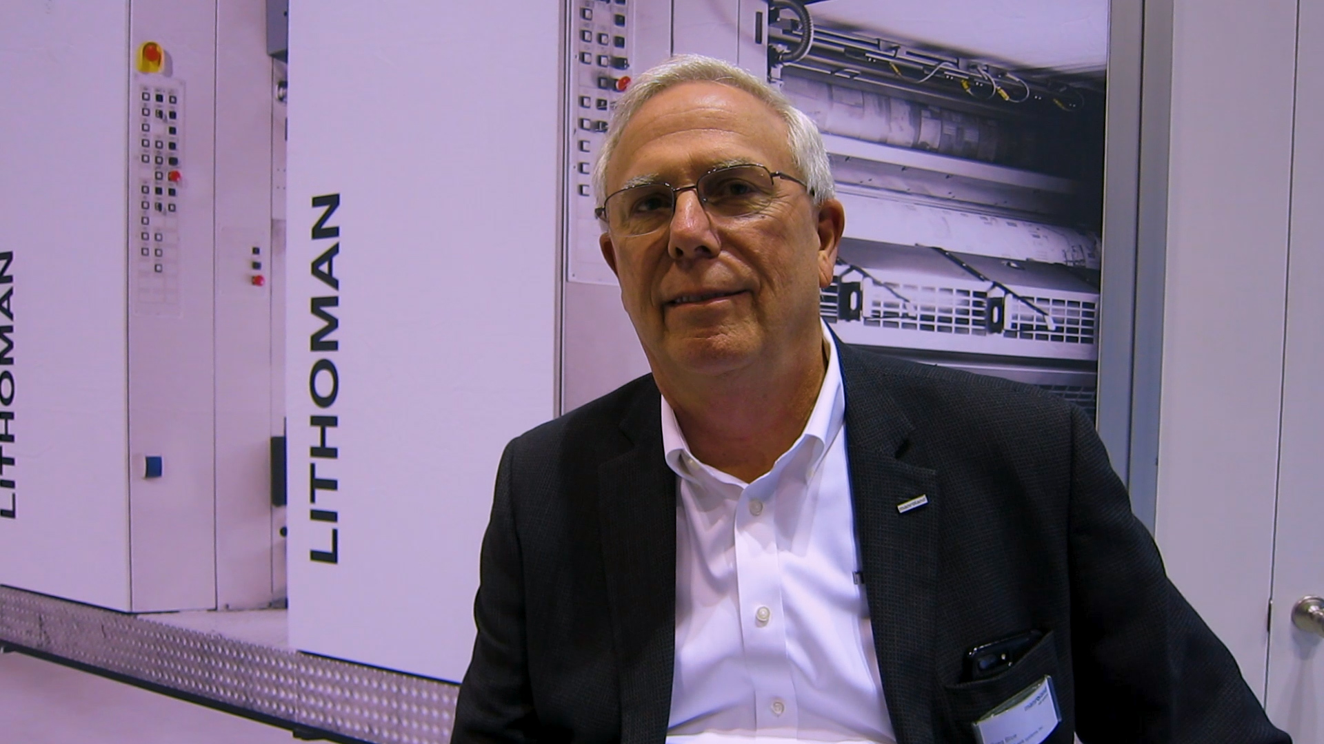 Video preview: Frank Vists manroland web systems