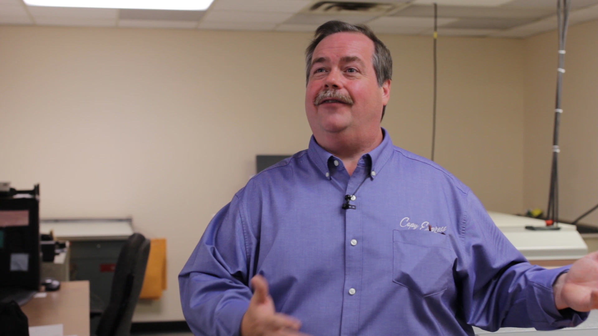 Video preview: Copy Express in Lexington Kentucky Invests in CRON-ECRM for Speed and Efficiency