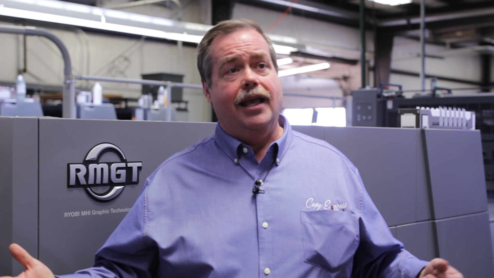 Video preview: Lexington's Copy Express Leverages New RMGT 9 Press for Versatility