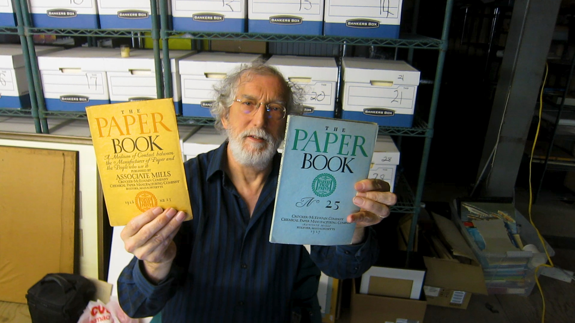Video preview: Frank Interviews Type and Print Historian Paul Shaw