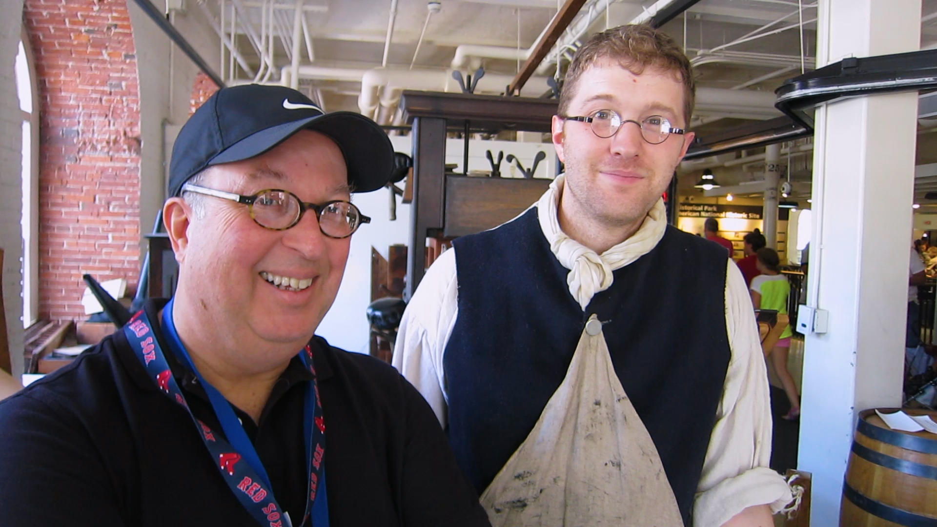 Video preview: Frank Visits Faneuil Hall's Edes & Gill: An 18th-Century Print Shop