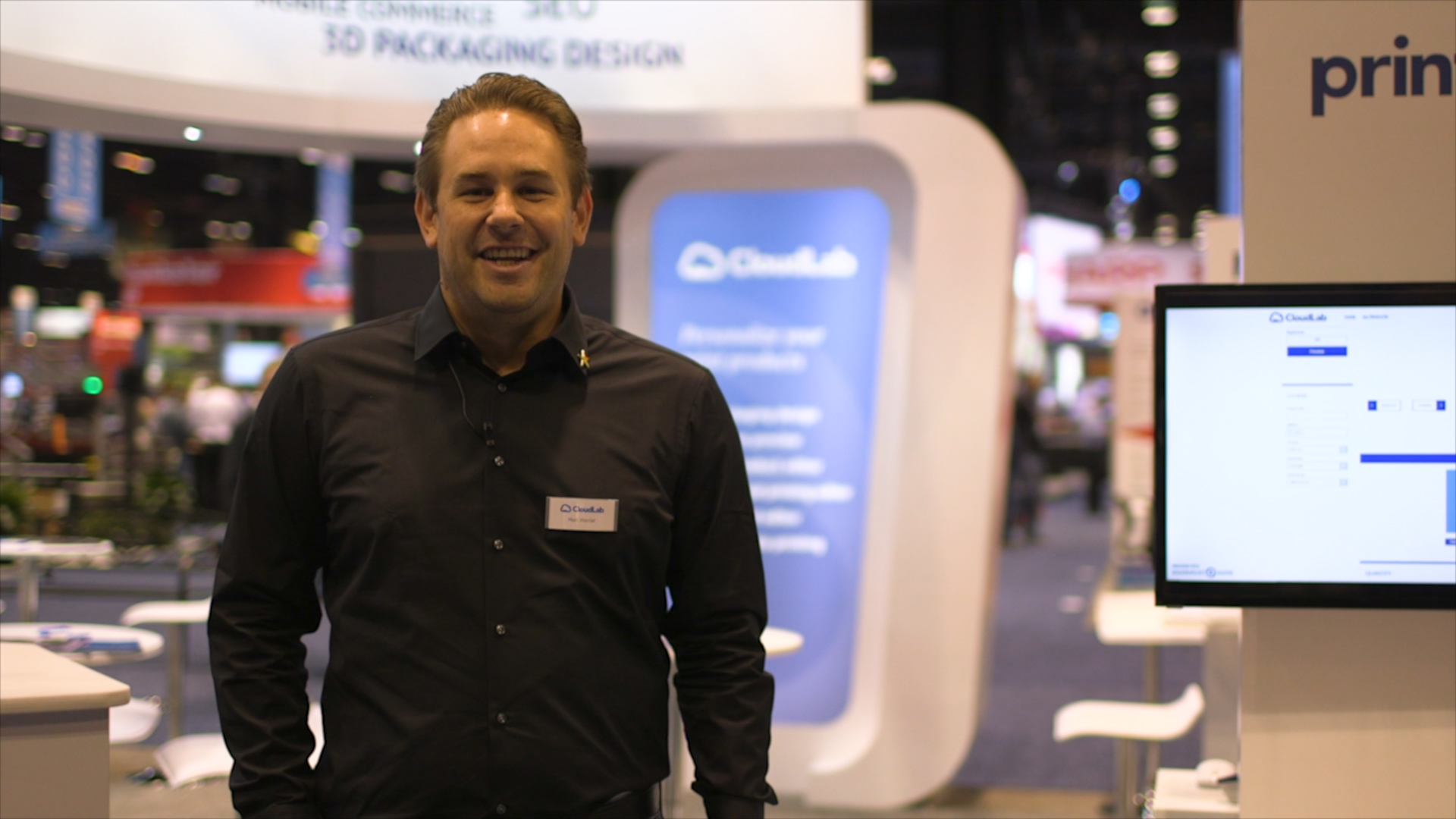 Video preview: CloudLab's Tailor-Made Web-to-Print Solutions