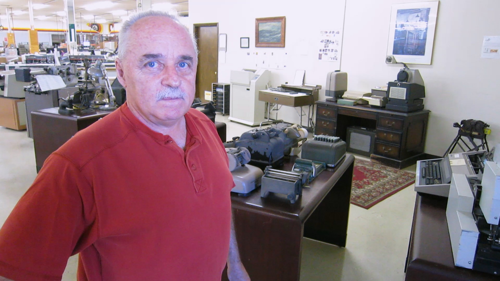 Video preview: Frank Visits a Mailing Museum