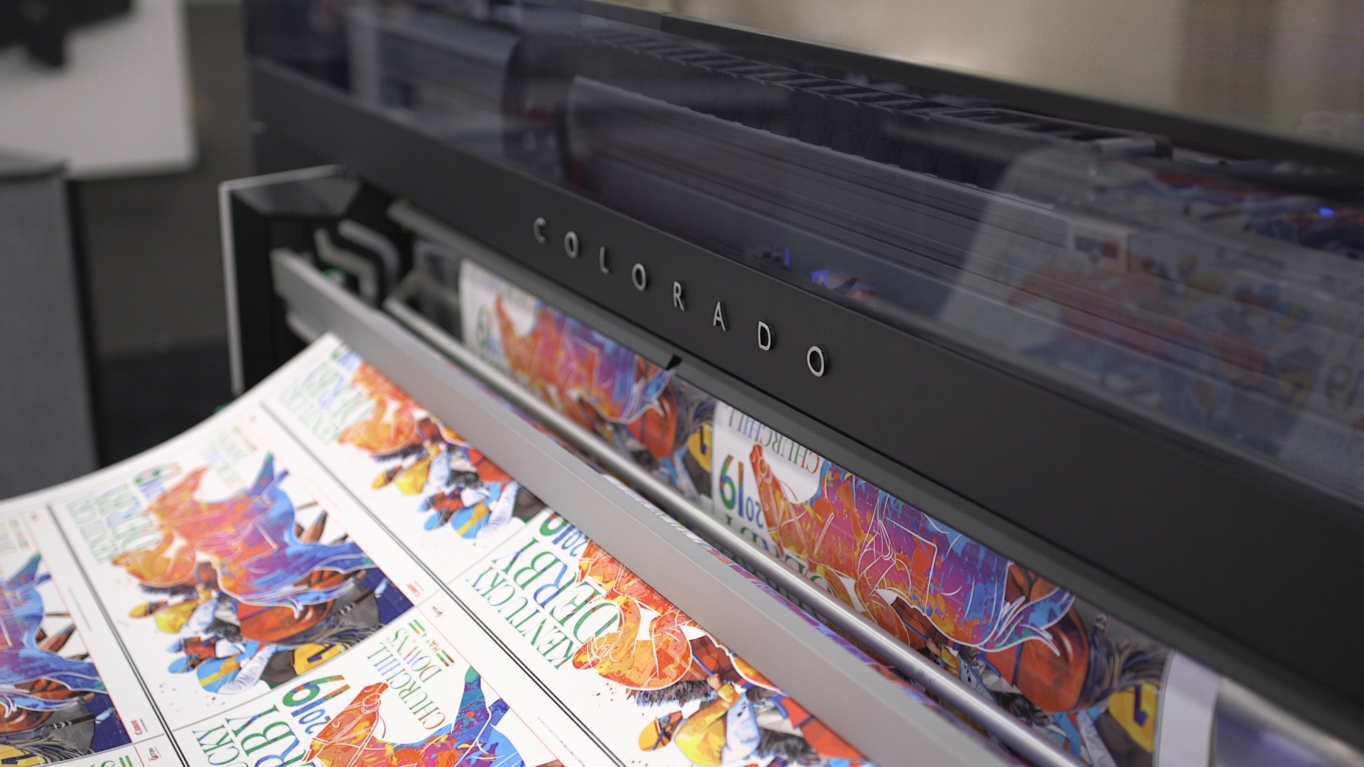 Video preview: Canon Solutions America's Océ Colorado Printer Offers Endless Solutions