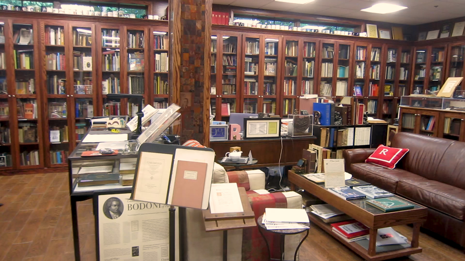 Video preview: Frank Tours His Library