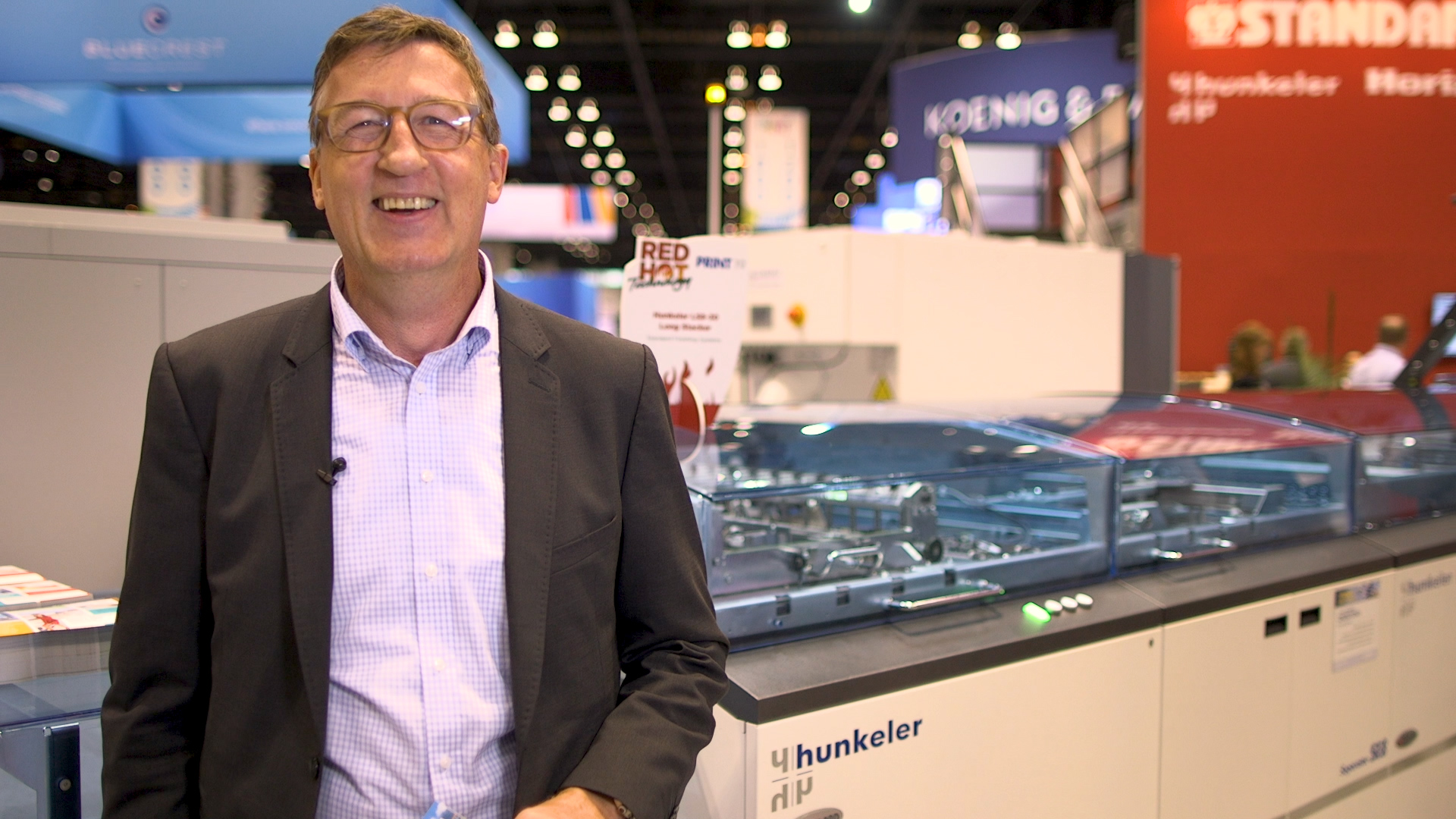 Video preview: Hunkeler's New Flexible Stacker