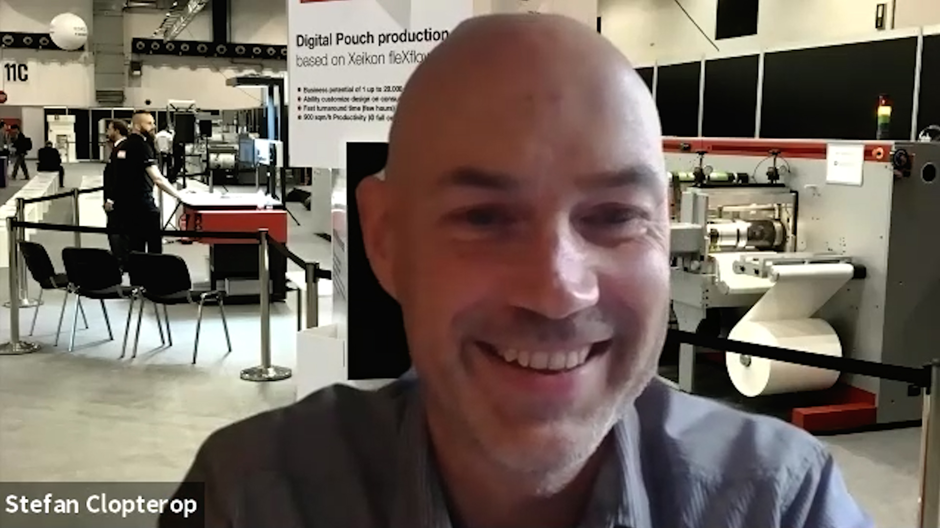 Xeikon's Stefan Clopterop on fleXflow