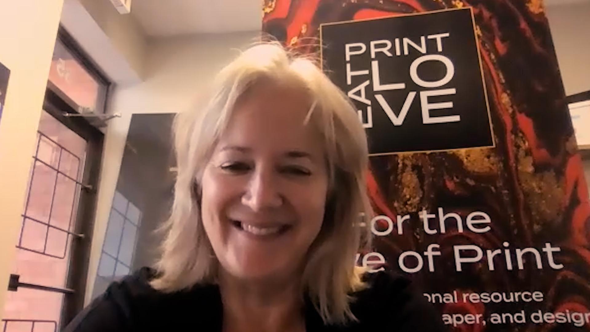 Video preview: Warren Werbitt Goes Printer to Printer with Print Panther's Christine Yardley