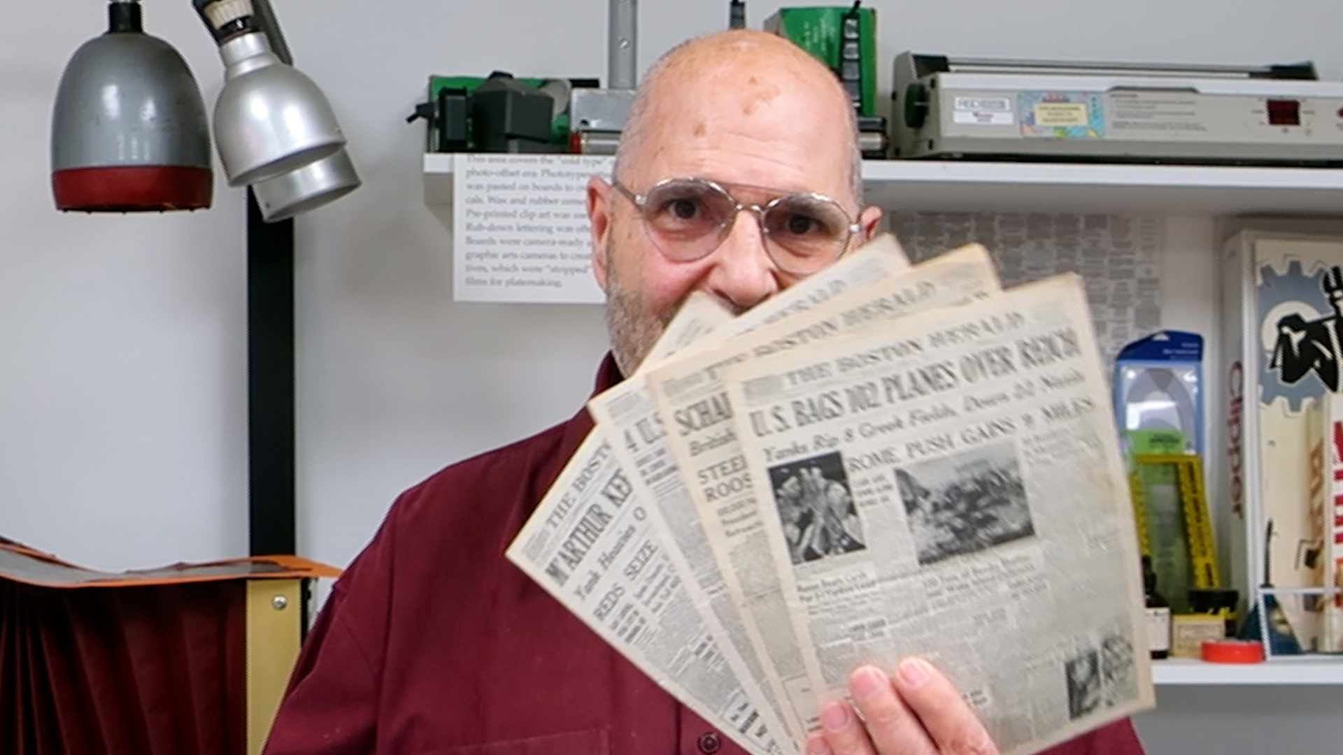 Video preview: Frank Reads the Fine Print