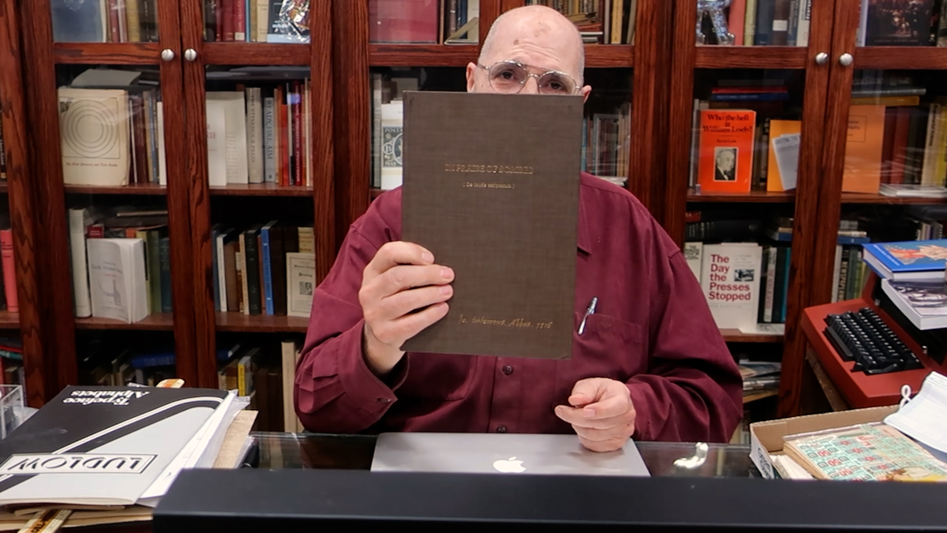 Video preview: Frank and the Ironic Praise of Scribes