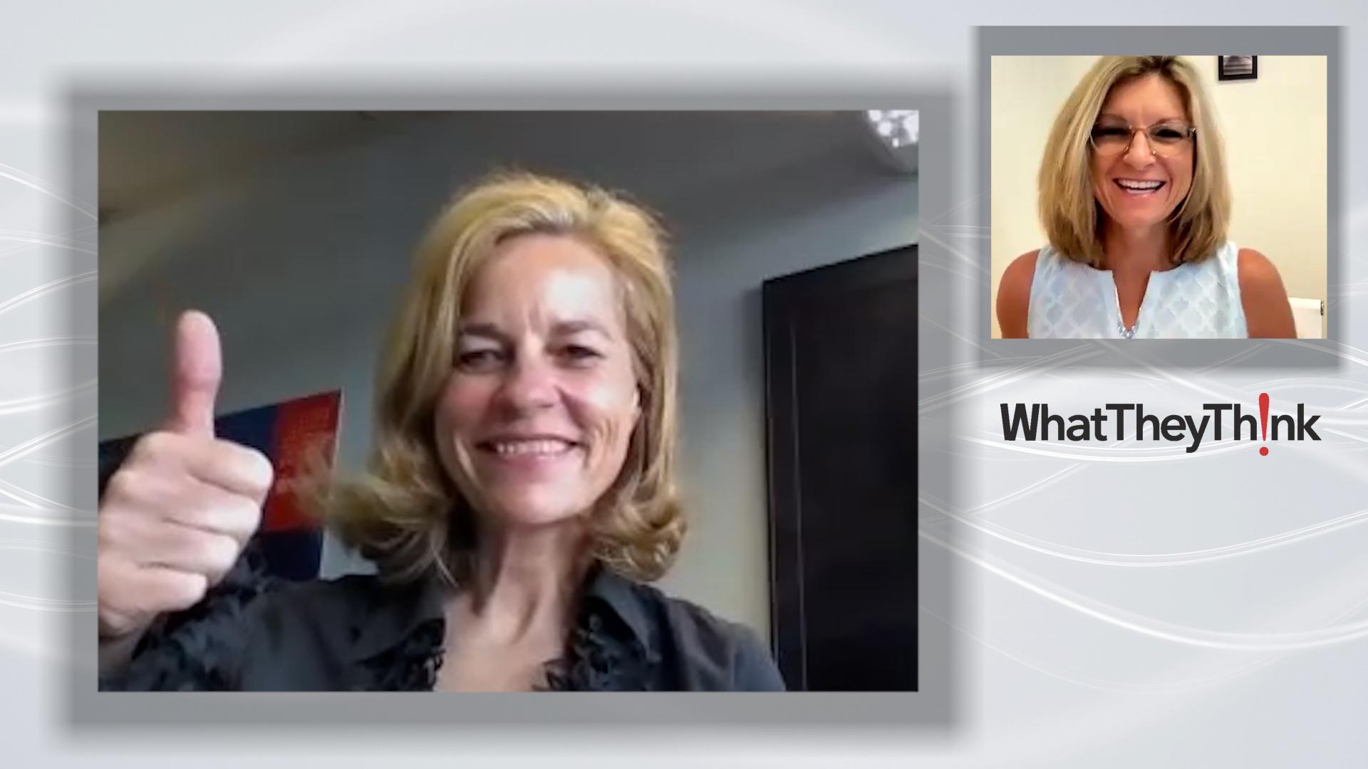 Video preview: Sabine Geldermann Previews Next Month's virtual.drupa