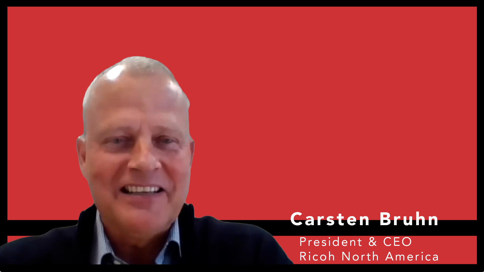 Video preview: Ricoh's New President and CEO Carsten Bruhn on Doing Business Post-COVID