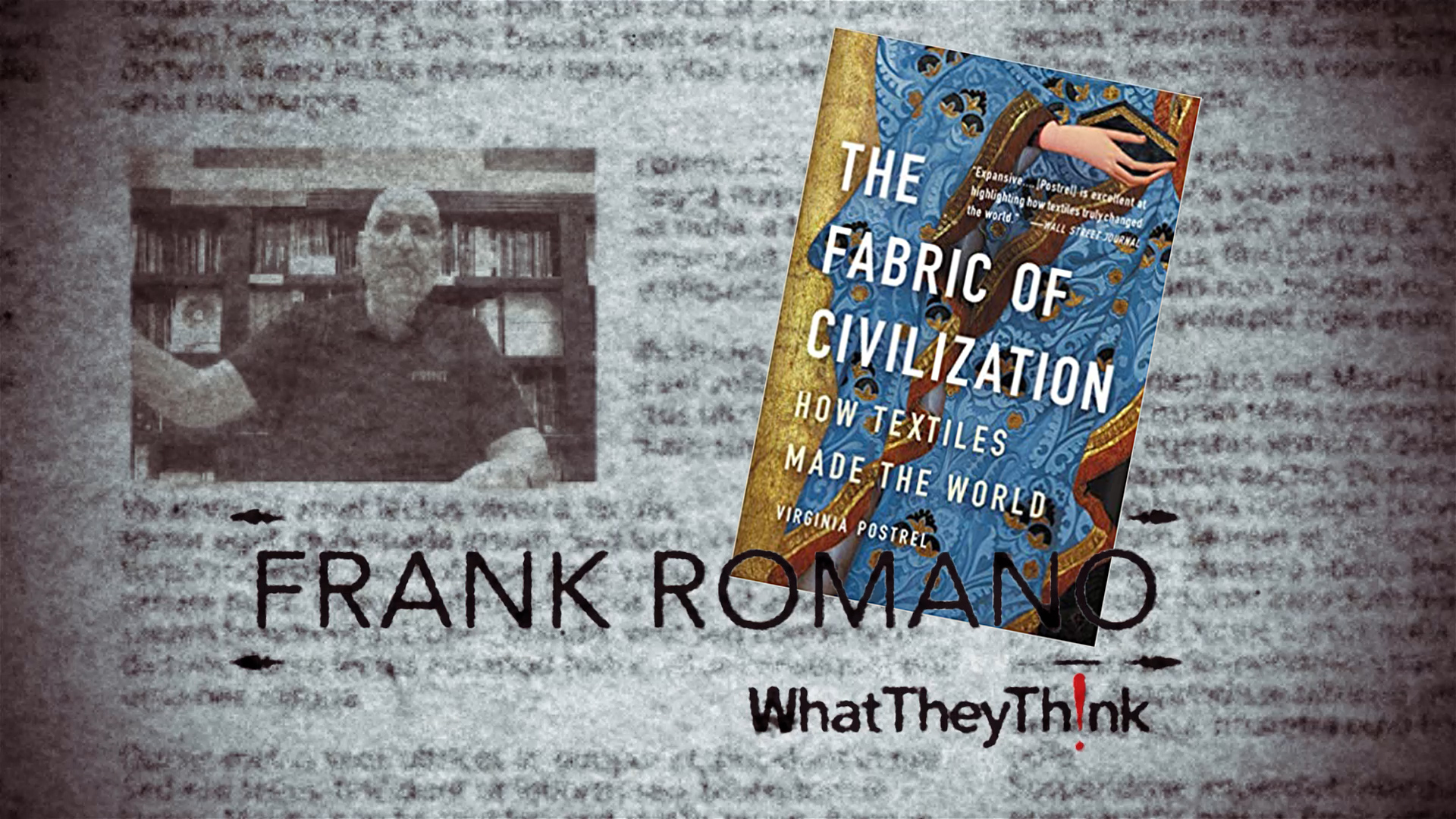 Video preview: The Fabric of Frank's Life