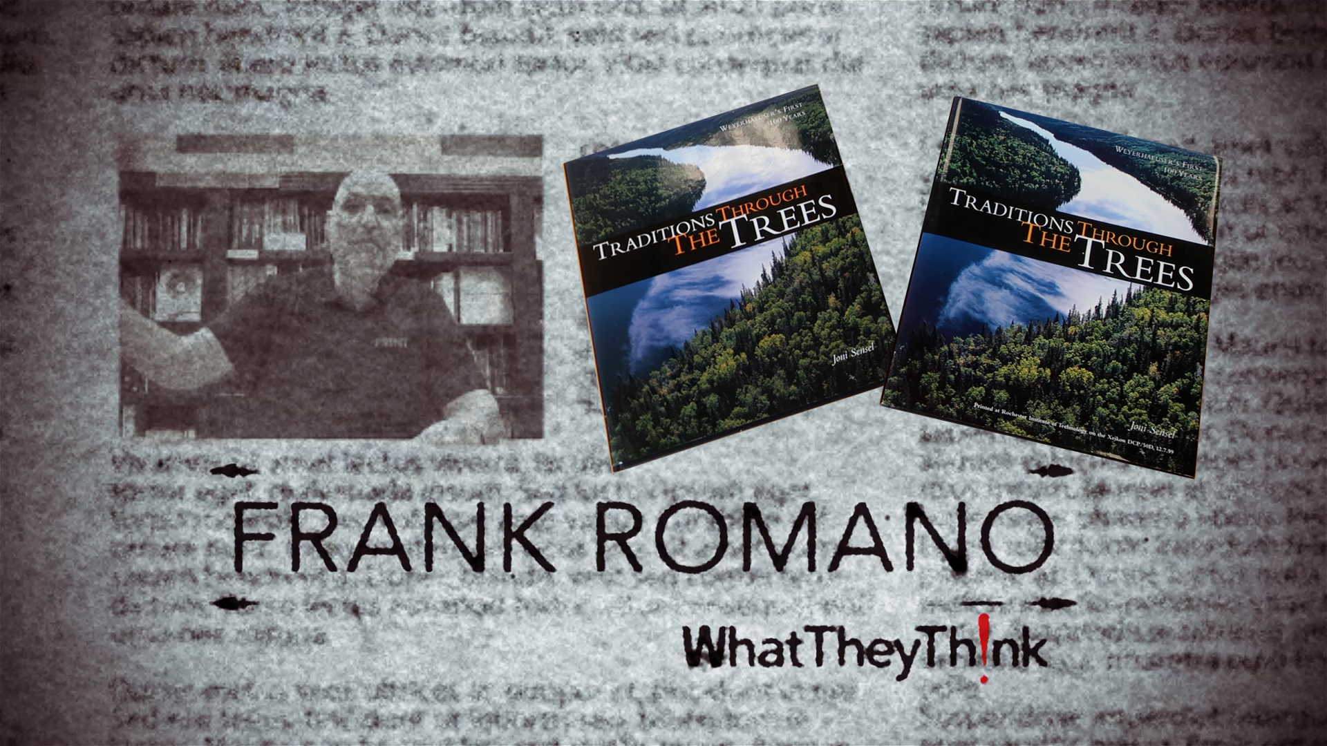 Video preview: Frank's Tale of Two Books