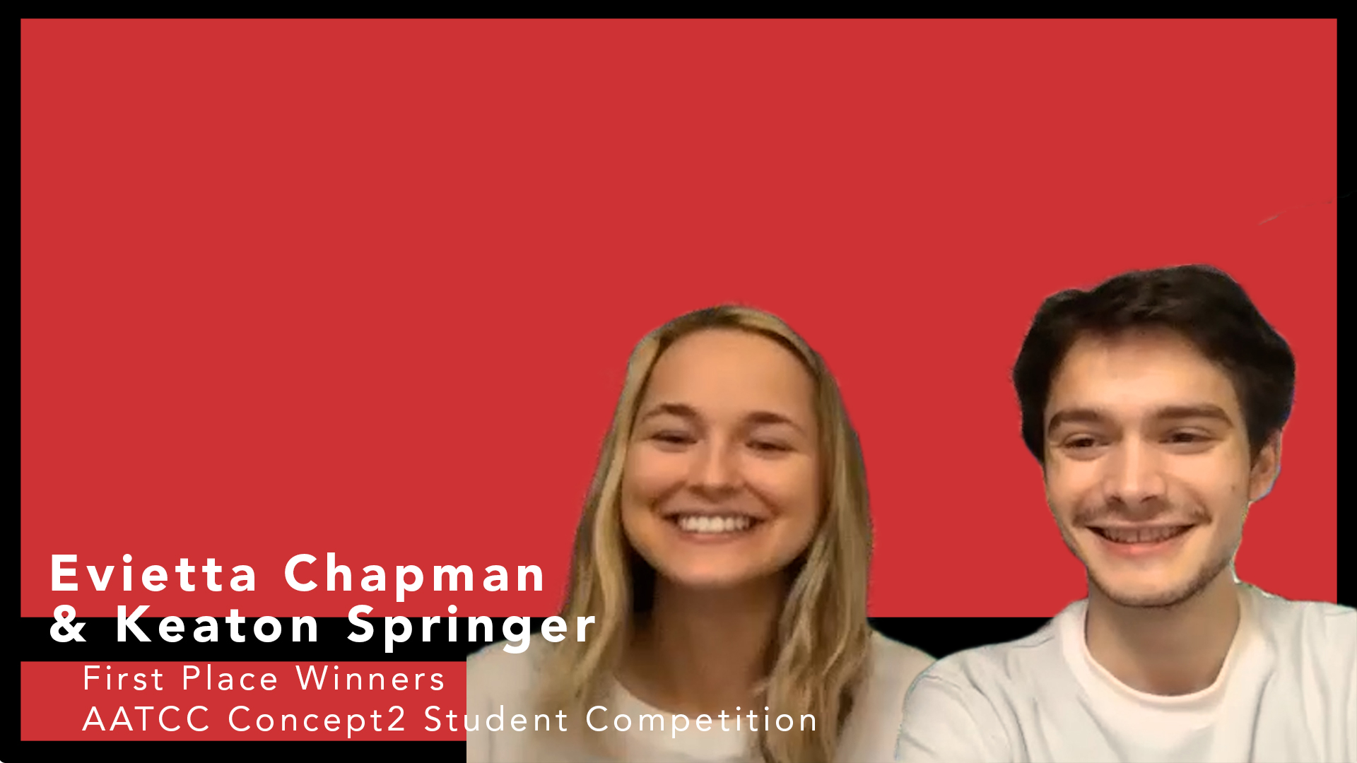 First Place Winners of the AATCC Concept 2 Consumer Student Merchandising Competition Discuss their Project and their Futures