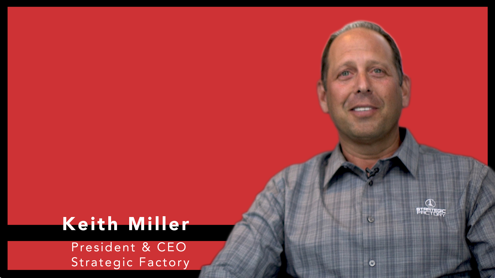 Video preview: Meet This Year's #1 Small Commercial Printer: Strategic Factory