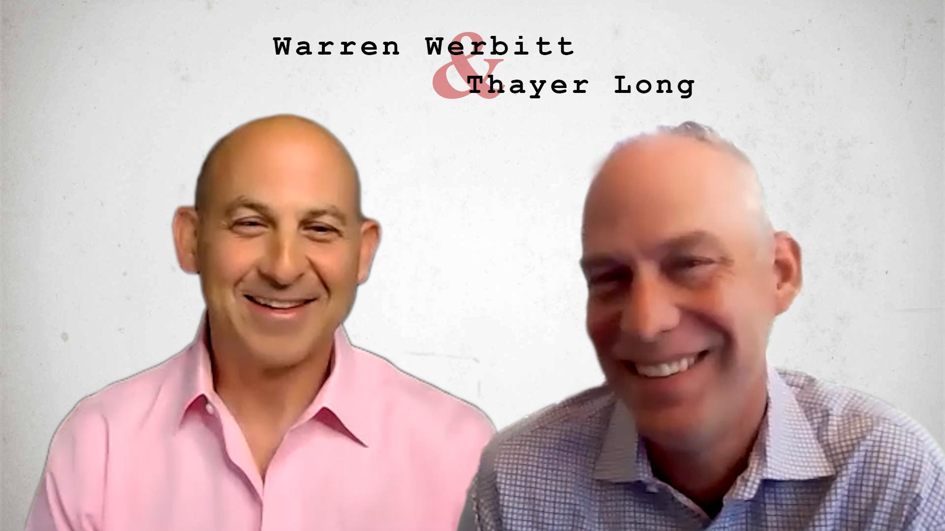 Video preview: Warren Werbitt Goes Printer to Printer with Thayer Long