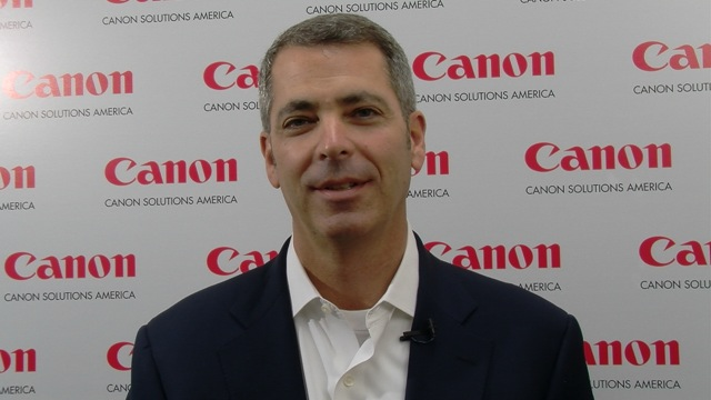 Video preview: Francis McMahon on the New Canon Solutions America Organization