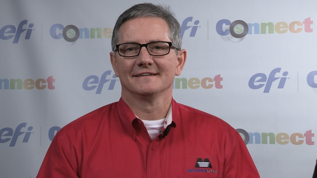 Video preview: Jim Tomblinson of Modern Litho at EFI Connect