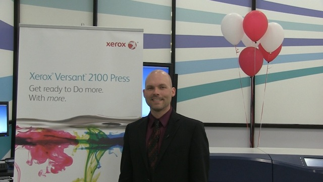 Video preview: Chris Irick of Xerox Introduces the New Versant 2100 Press
