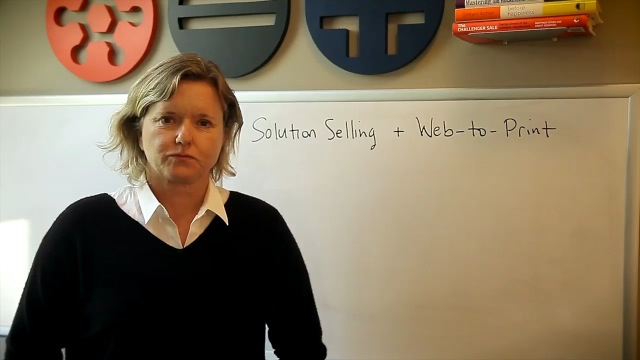 Video preview: Solution Selling and Web-to-Print