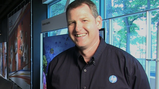 Video preview: HP's Ken VanHorn on the Scitex FB10000 Launch at FESPA