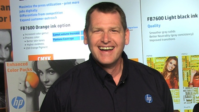 Video preview: HP Scitex's Ken VanHorn on Launching a New Color Pack