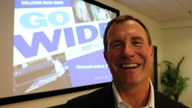 Video preview: Rick Burdick of xpedx on their Wide Format Summits
