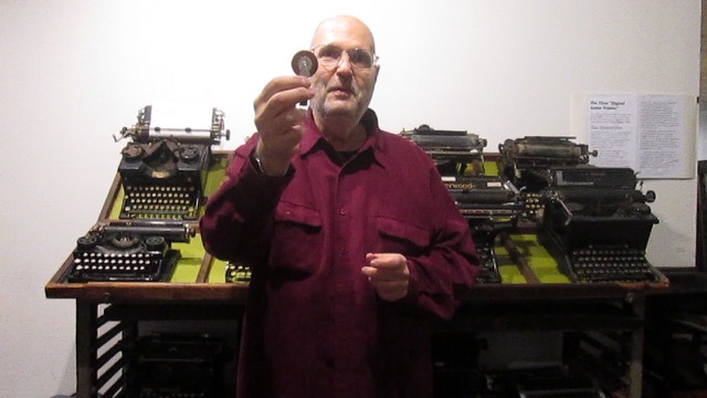 Video preview: Frank on Typewriters and Erasers