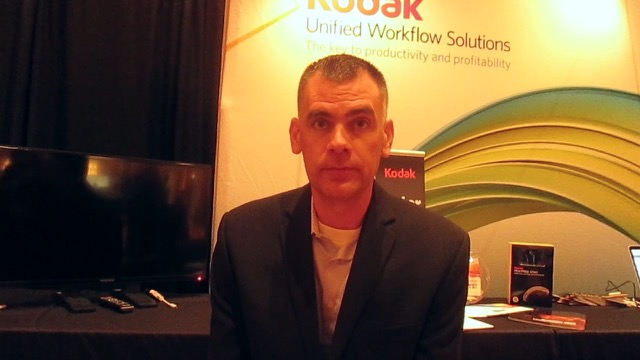 Video preview: Frank talks to Patrick Kerr from Kodak about Prepress Workflows