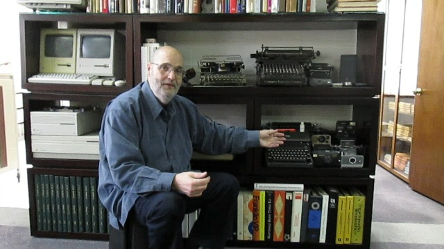 Video preview: Frank Romano on the History of the Typewriter